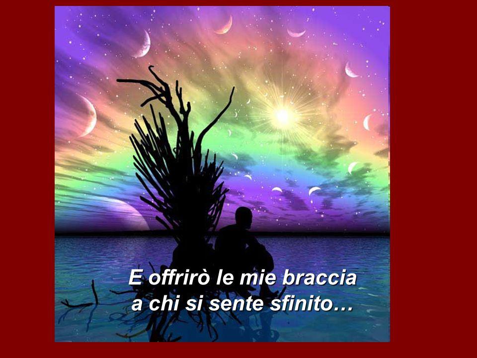 E disegnerò sorrisi sui volti in lacrime….