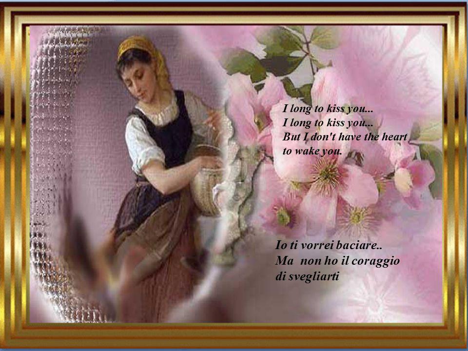 Come il fiore che attendevo, il fiore azzurro, la rosa, della mia patria lontana.