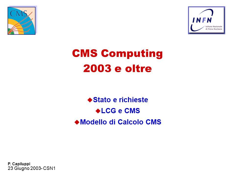 23 Giugno 2003- CSN1 P.