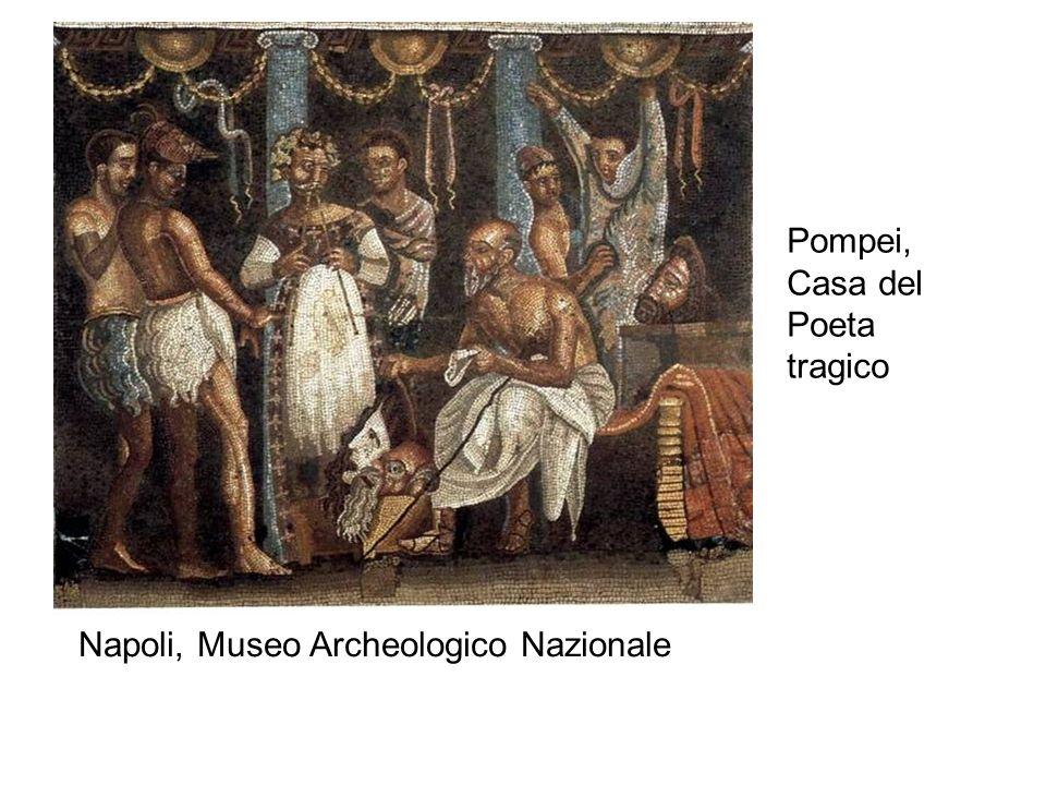 Pompei, Casa del Poeta tragico Napoli, Museo Archeologico Nazionale