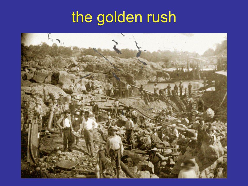 modern golden rush
