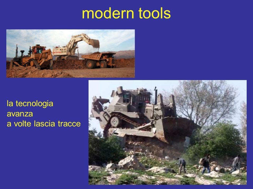 modern tools la tecnologia avanza a volte lascia tracce
