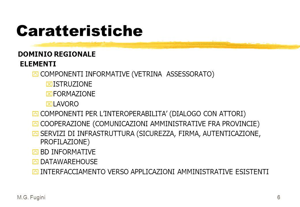 5 1 Scopi e contesto: supporto amministrativo e Fiera dei Lavori Il Portale in ogni nodo è distinto in due parti: zComponente Amministrativa zComponen