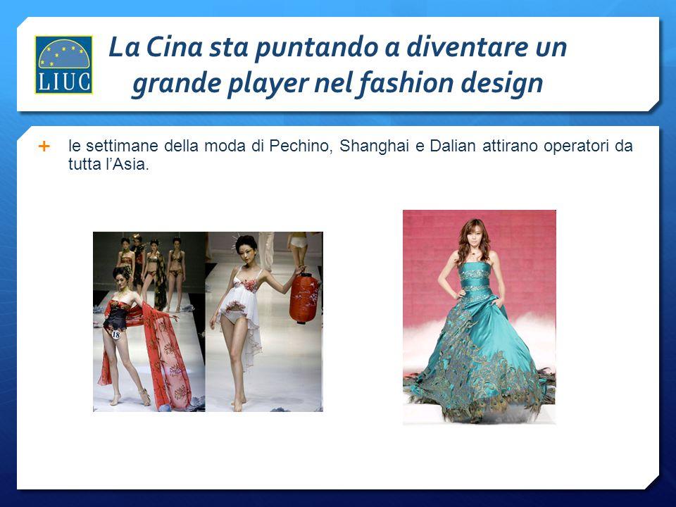 La Cina sta puntando a diventare un grande player nel fashion design  le settimane della moda di Pechino, Shanghai e Dalian attirano operatori da tut