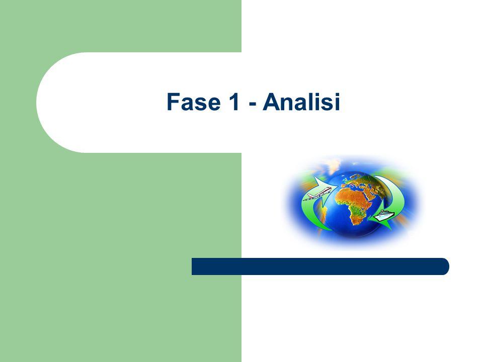 Fase 1 - Analisi