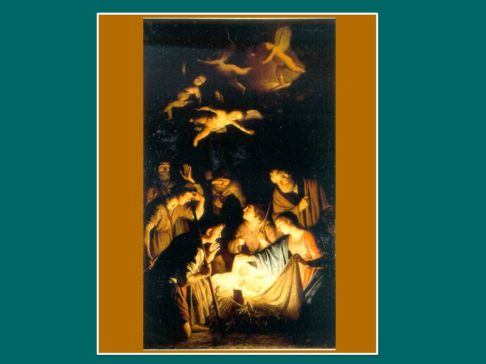 E questo è avvenuto con la nascita di Gesù Cristo.
