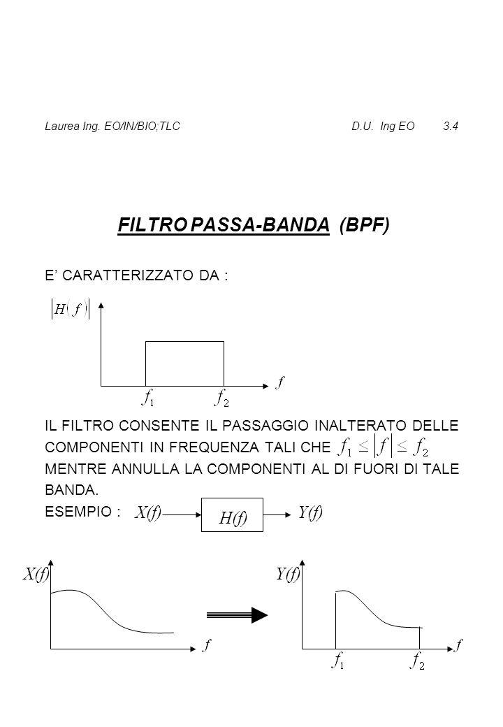 Laurea Ing.EO/IN/BIO;TLC D.U. Ing EO 3.24.1 P =0 PER SEGNALI DI ENERGIA.