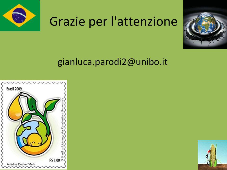 Grazie per l'attenzione gianluca.parodi2@unibo.it
