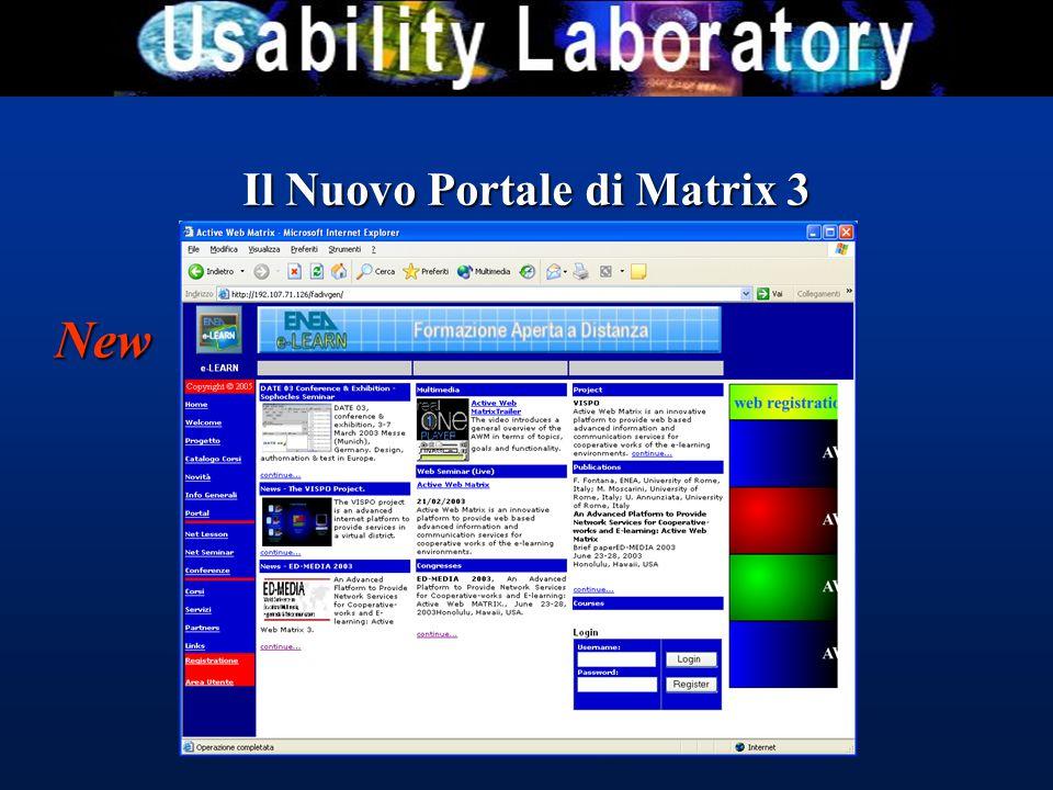 Il Nuovo Portale di Matrix 3 New