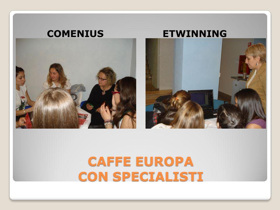 CAFFE EUROPA CON SPECIALISTI COMENIUSETWINNING