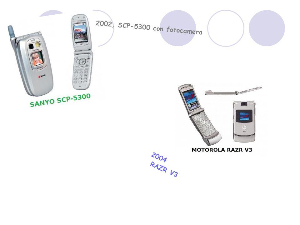 2004 RAZR V3 2002, SCP-5300 con fotocamera