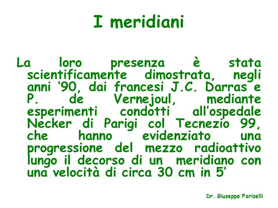 I meridiani La loro presenza è stata scientificamente dimostrata, negli anni '90, dai francesi J.C.