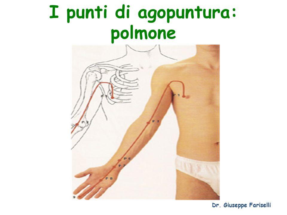 I punti di agopuntura: polmone Dr. Giuseppe Fariselli