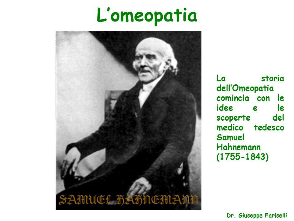 L'omeopatia Dr.