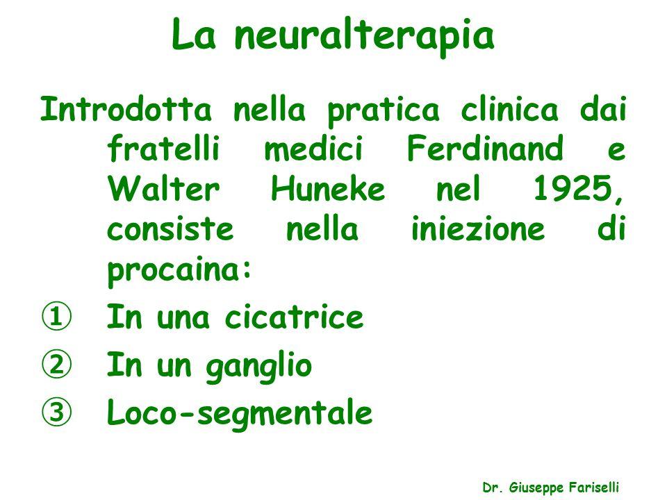 La neuralterapia Dr.