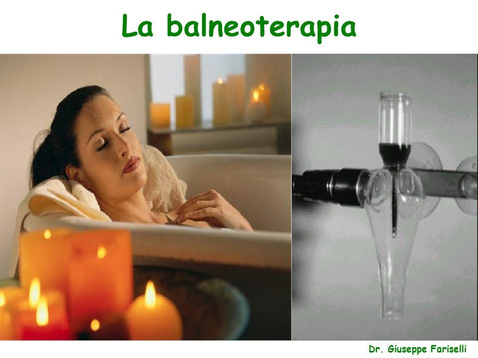 La balneoterapia Dr. Giuseppe Fariselli