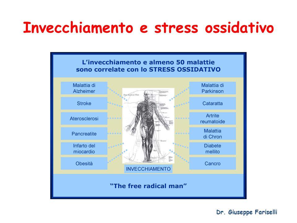 Invecchiamento e stress ossidativo Dr. Giuseppe Fariselli