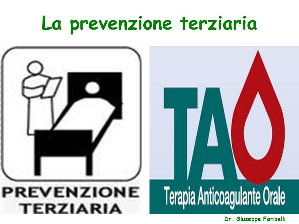 La prevenzione terziaria Dr. Giuseppe Fariselli