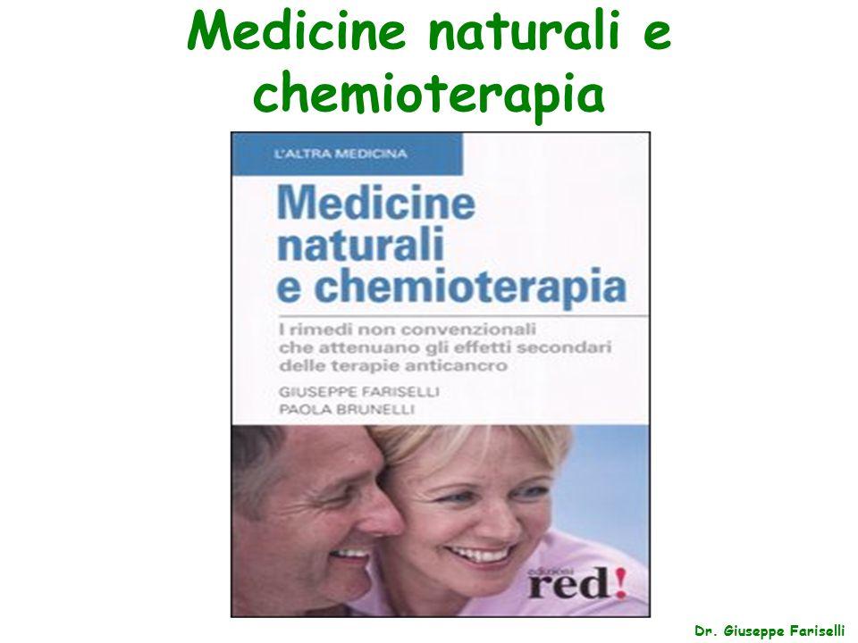 Medicine naturali e chemioterapia Dr. Giuseppe Fariselli