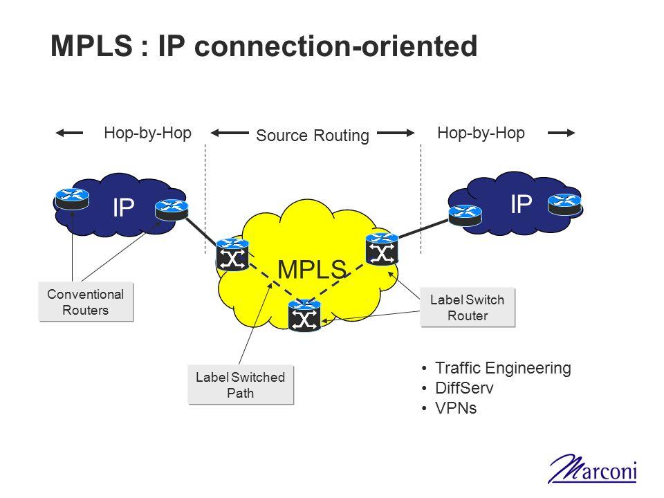 Nuovo concetto GMPLS: Processi distribuiti Segnalazione: UNI sul bordo, NNI nella rete NMS continua a controllare e monitorare la rete OXC OADM OXC NMS OADM (O)-UNI NNI