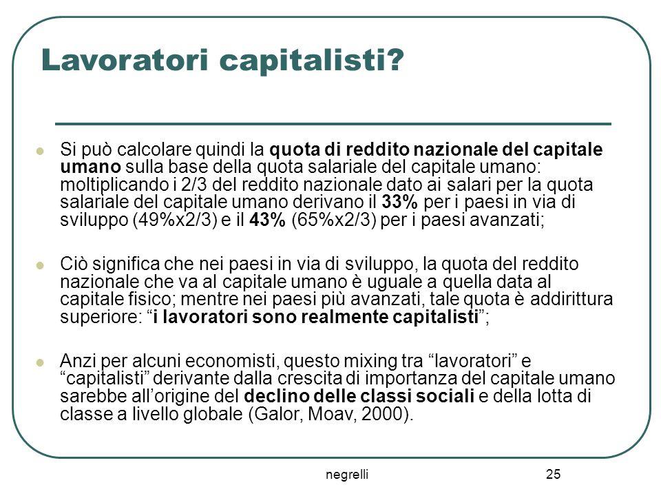 negrelli 25 Lavoratori capitalisti.