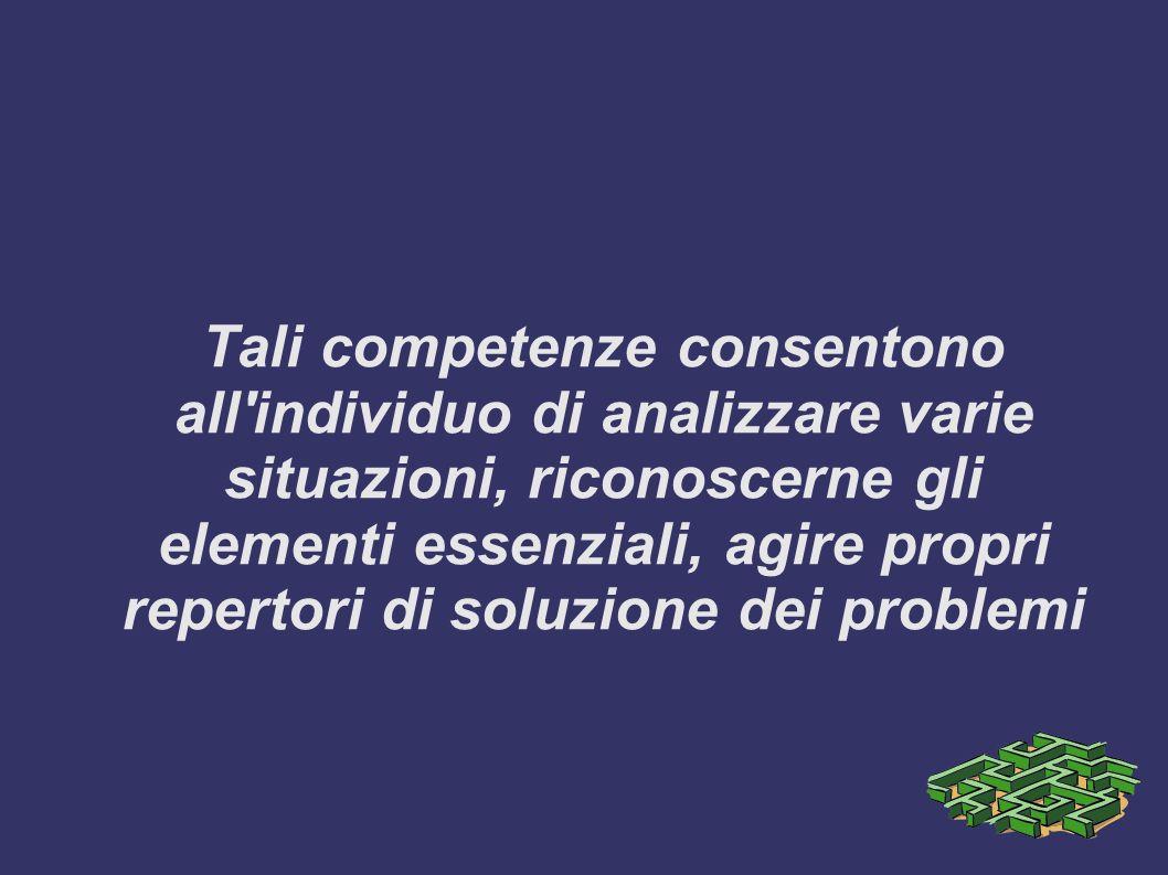 Certificare: attribuire un livello agli apprendimenti fondamentali di ogni disciplina (literacy) che si esplicano in competenze operative, metodologic