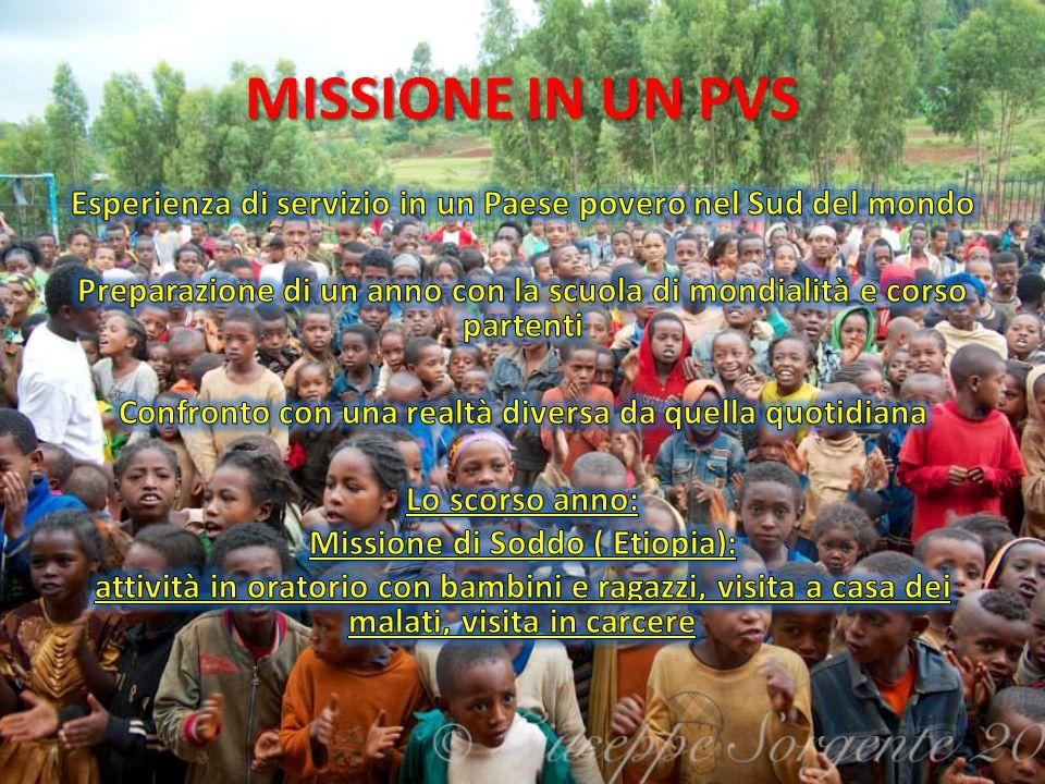 MISSIONE IN UN PVS
