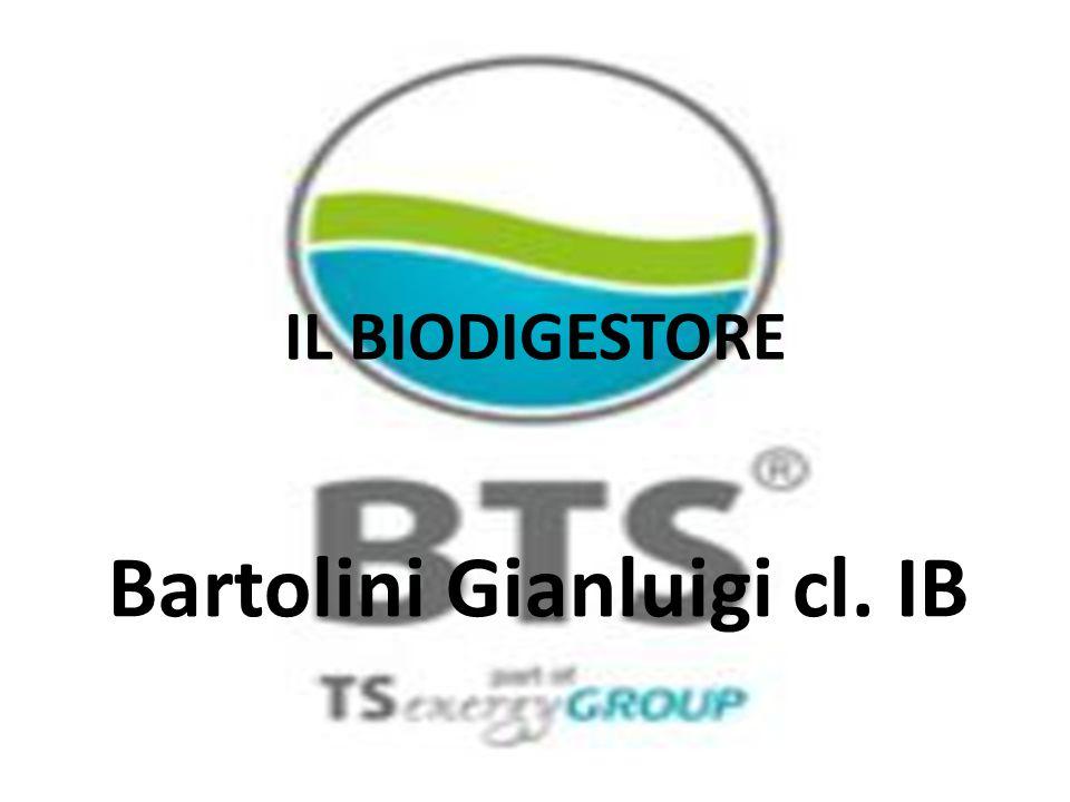 IL BIODIGESTORE Bartolini Gianluigi cl. IB