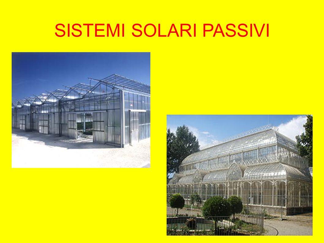 SISTEMI SOLARI ATTIVI Sistemi solari attivi: impianti nella quale l energia viene raccolta e trasformata in energia termica o elettrica prima di essere utilizzata.