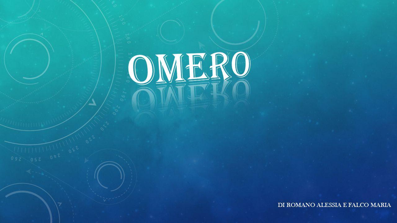 Etimologia del nome L etimologia del nome «Omero» è dubbia, e ve ne sono varie definizioni: viene solitamente associato al termine ὅ μηρος (homeros), «ostaggio», «pegno», «cauzione».
