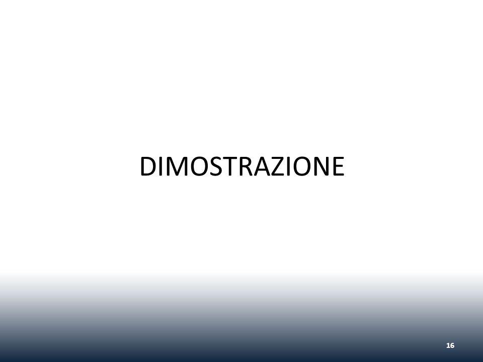 DIMOSTRAZIONE 16