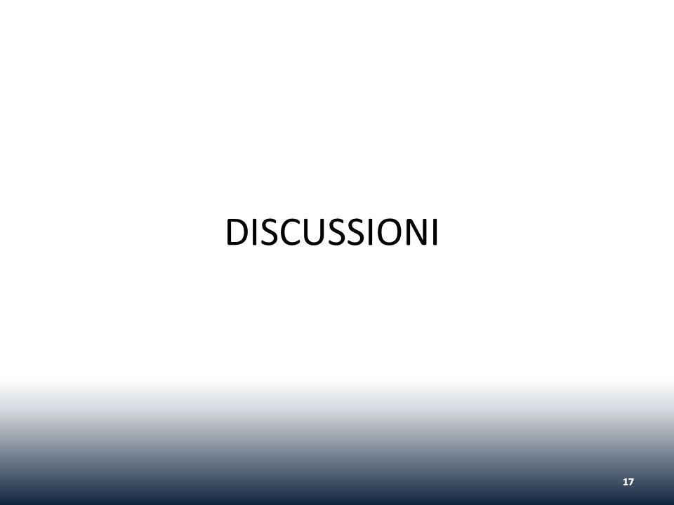 DISCUSSIONI 17