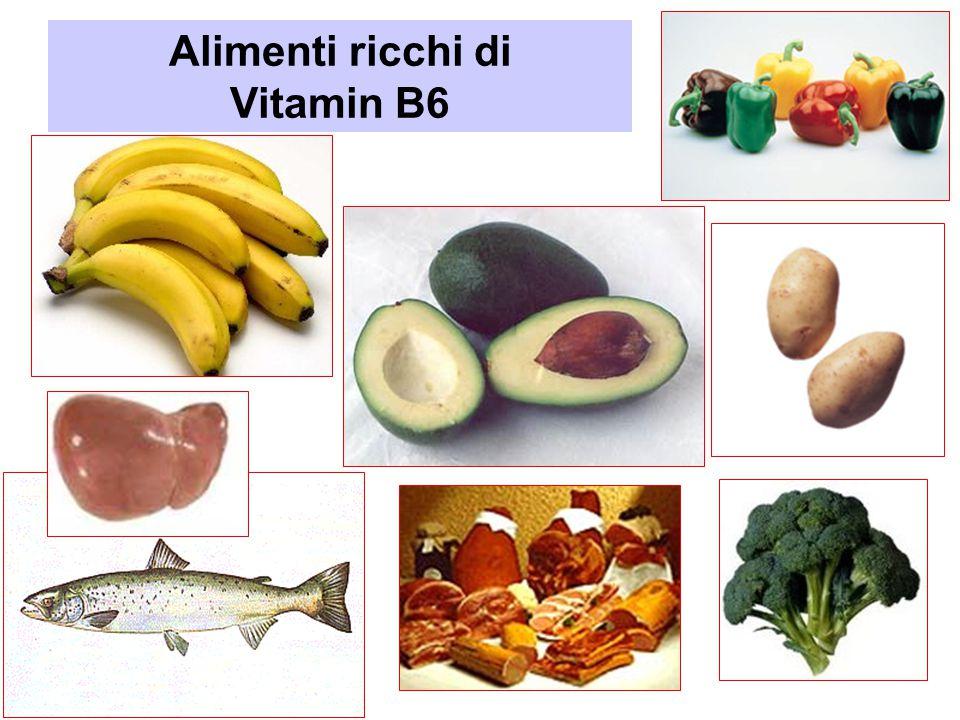 Alimenti ricchi di Vitamin B6