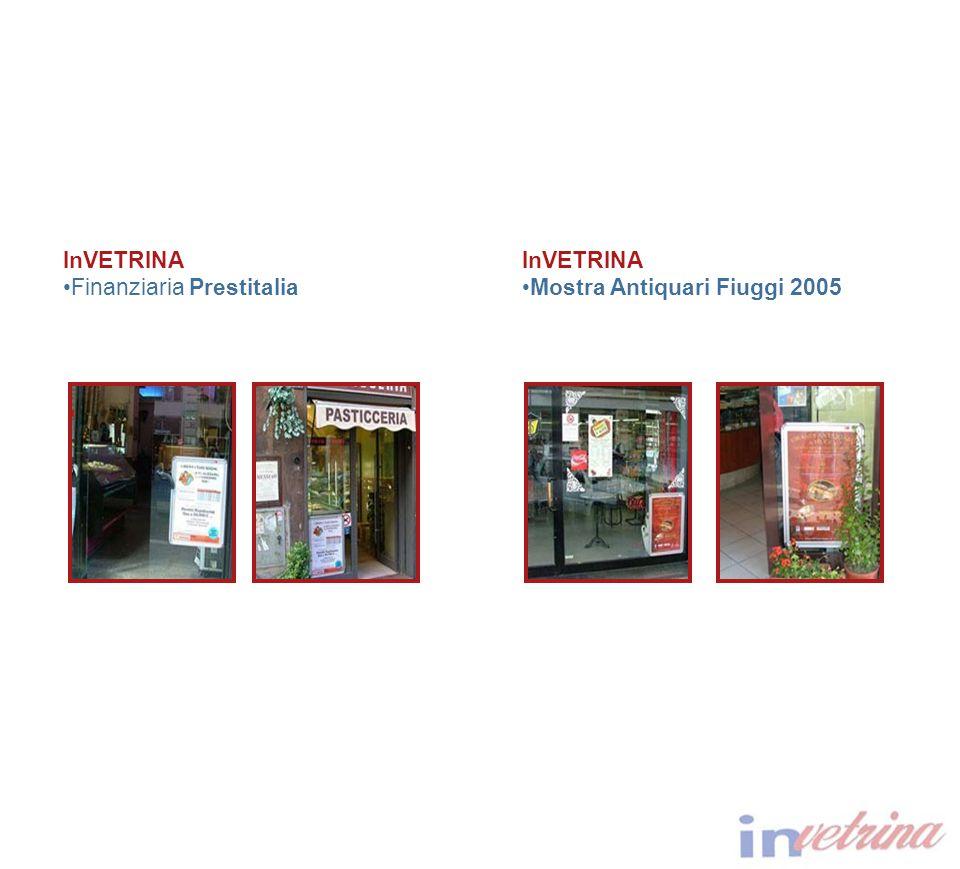 InVETRINA Finanziaria Prestitalia InVETRINA Mostra Antiquari Fiuggi 2005