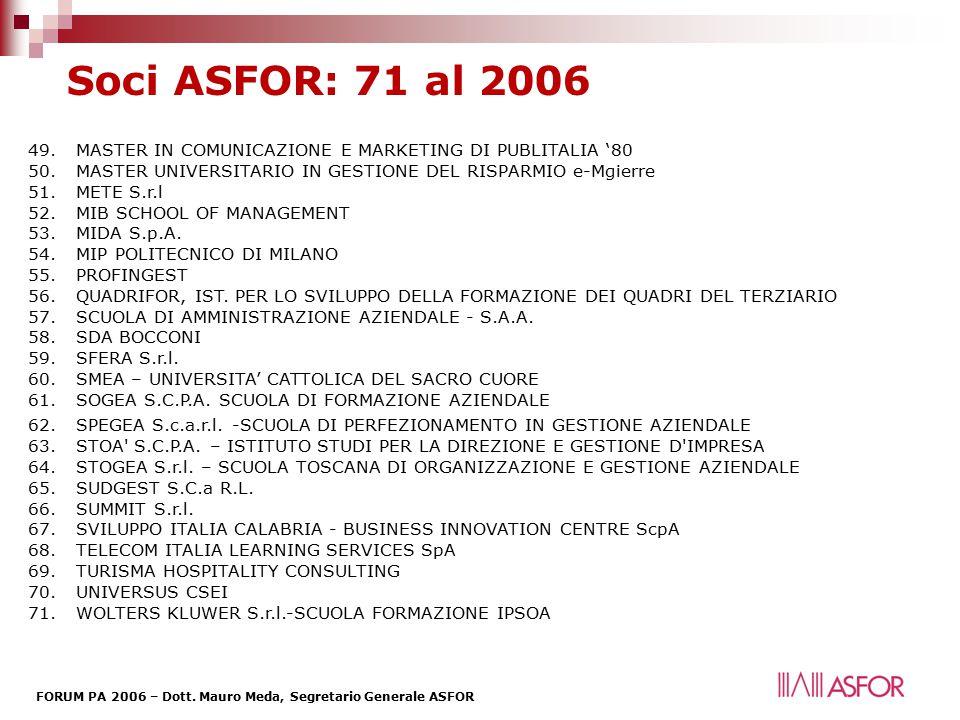 FORUM PA 2006 – Dott.