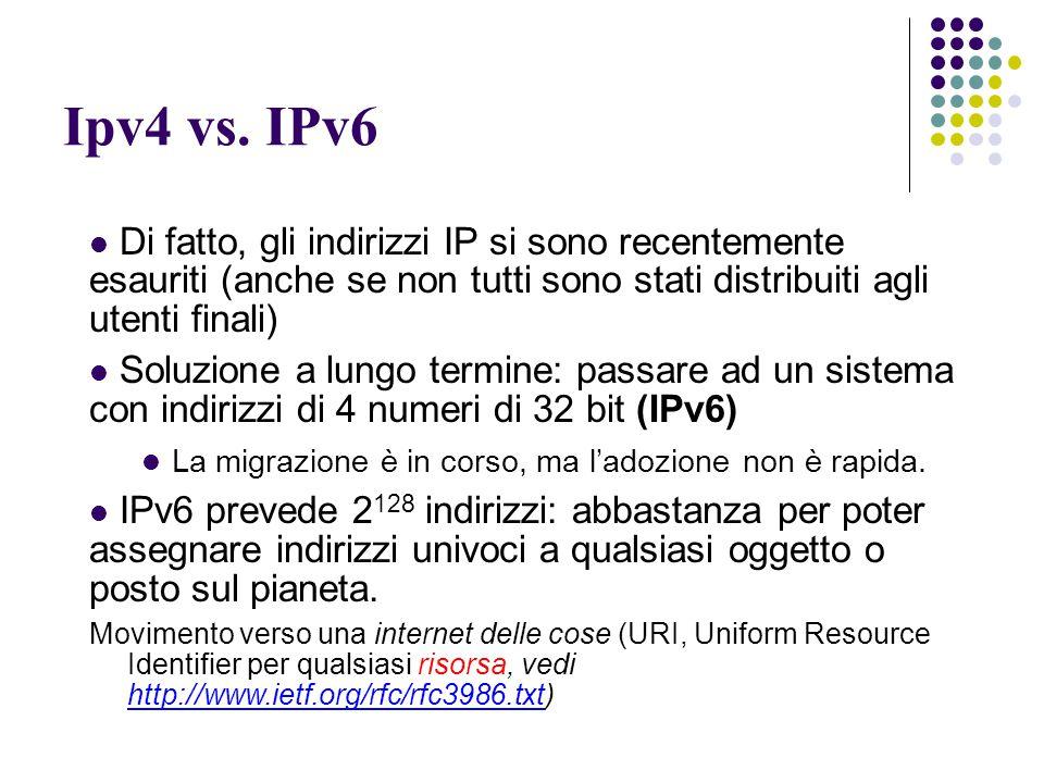 Ipv4 vs.