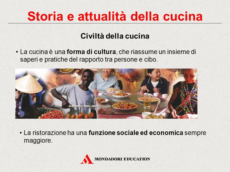 Storia e attualità della cucina Le tendenze della cucina in Italia Le aziende della ristorazione