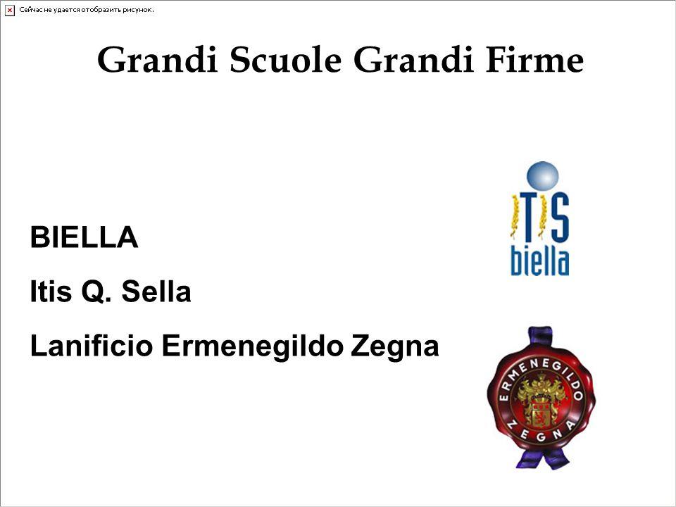 BIELLA Itis Q. Sella Lanificio Ermenegildo Zegna Grandi Scuole Grandi Firme
