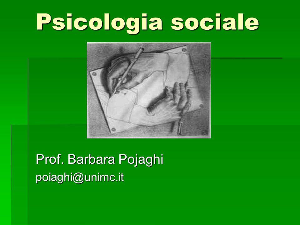 Alcune scuole di psicologia Un po' di storia