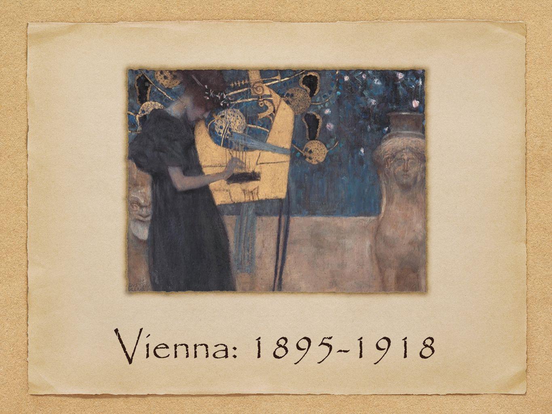 Vienna: 1895-1918