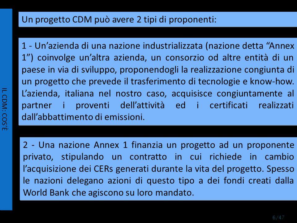 UN ESEMPIO DI ATTIVITÀ PROGETTUALE 37/47