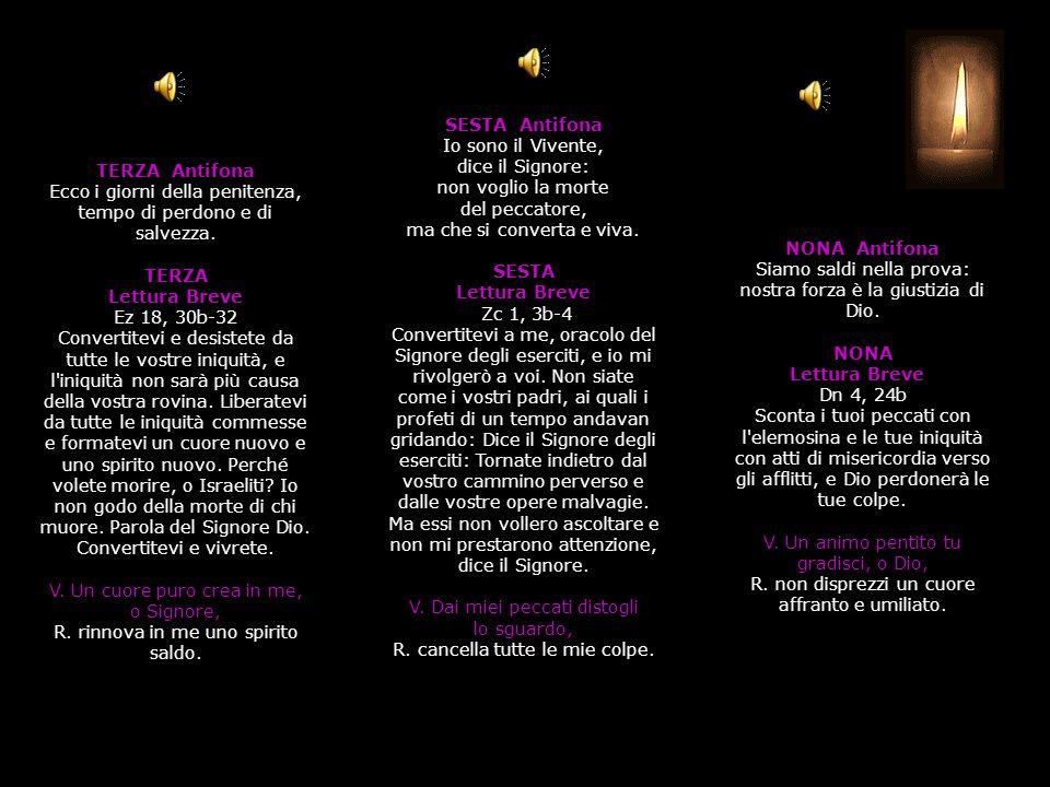 SALMO 16, 10-15 Dio, speranza dell innocente perseguitato Nei giorni della sua vita terrena Cristo offrì preghiere e suppliche a colui che poteva liberarlo da morte e fu esaudito per la sua pietà (Eb 5, 7) I (1-9) Essi hanno chiuso il loro cuore, * le loro bocche parlano con arroganza.