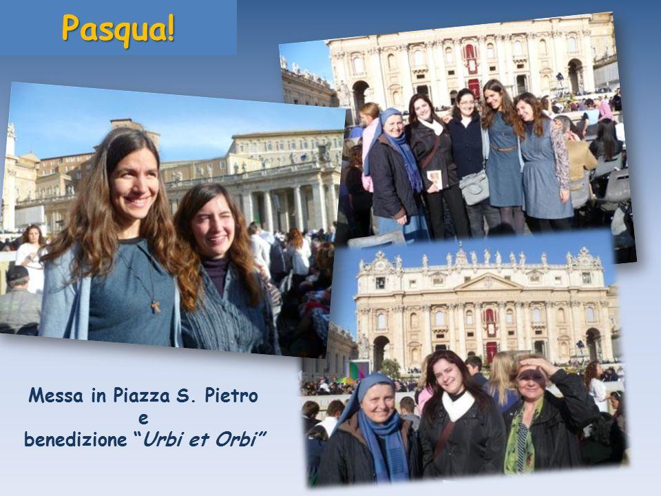 E dopo la Grande Veglia di Pasqua…Pasqua! Messa in Piazza S. Pietro e benedizione Urbi et Orbi