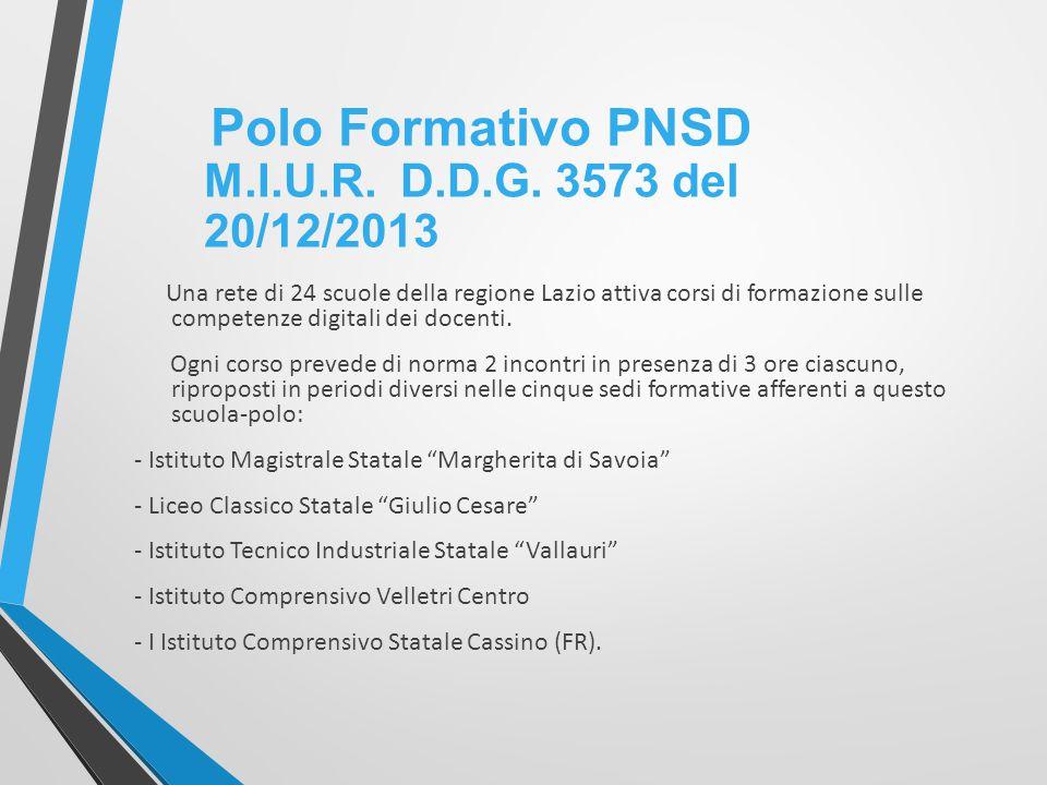 Una rete di 24 scuole della regione Lazio attiva corsi di formazione sulle competenze digitali dei docenti.