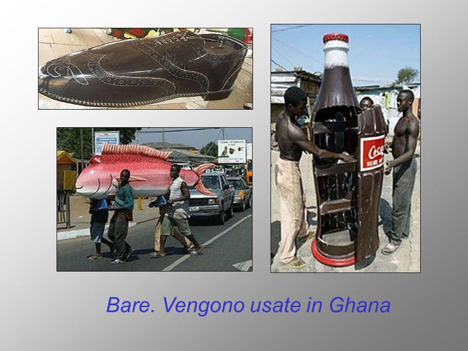 Bare. Vengono usate in Ghana