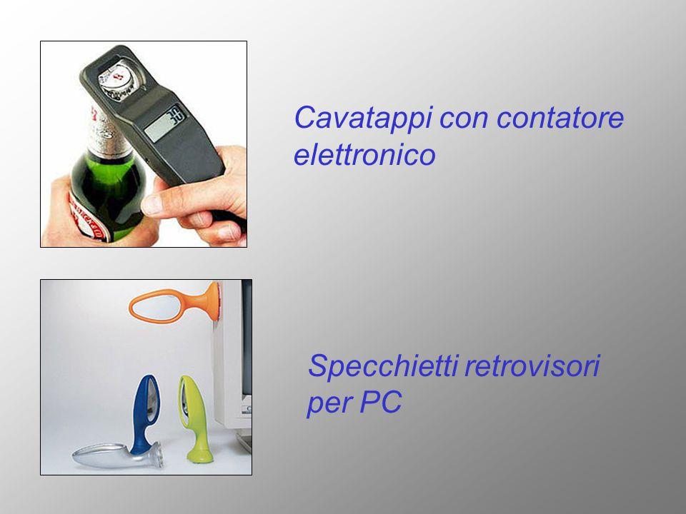 Cavatappi con contatore elettronico Specchietti retrovisori per PC