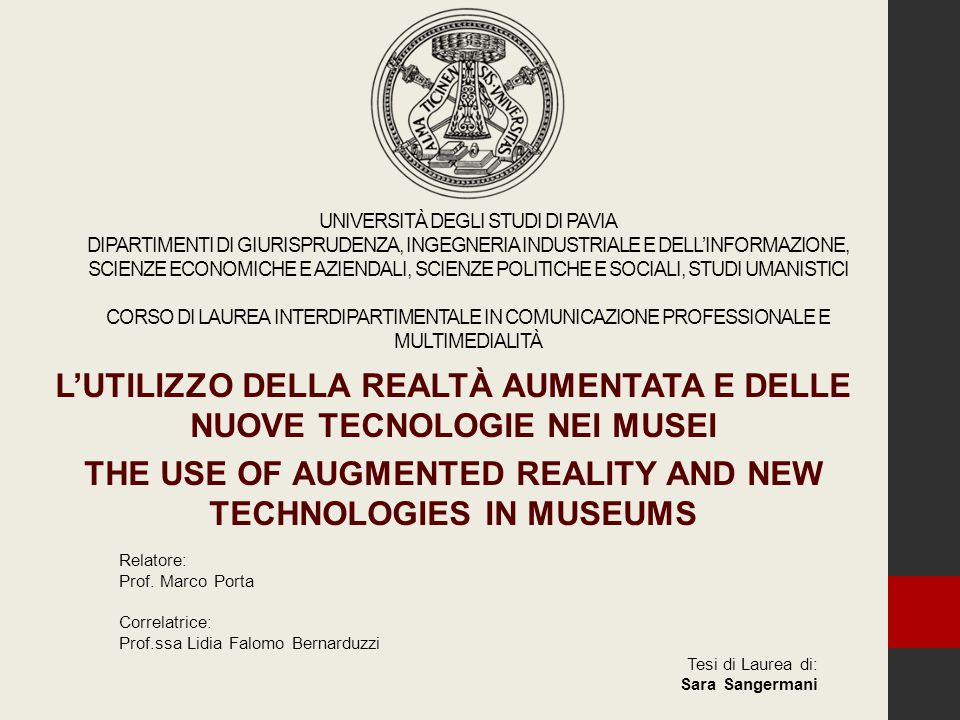 Augmented Reality (AR) Augmentation of the real world with virtual information Just in place and just in time Combination of reality and unreality Interaction with 3D objects Manipulation of 3D objects