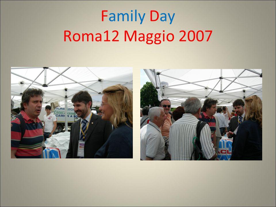 Family Day Roma12 Maggio 2007