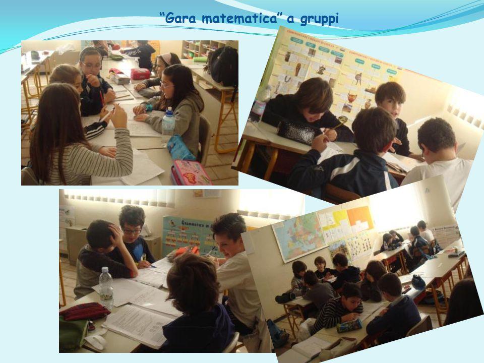 Gara matematica a gruppi