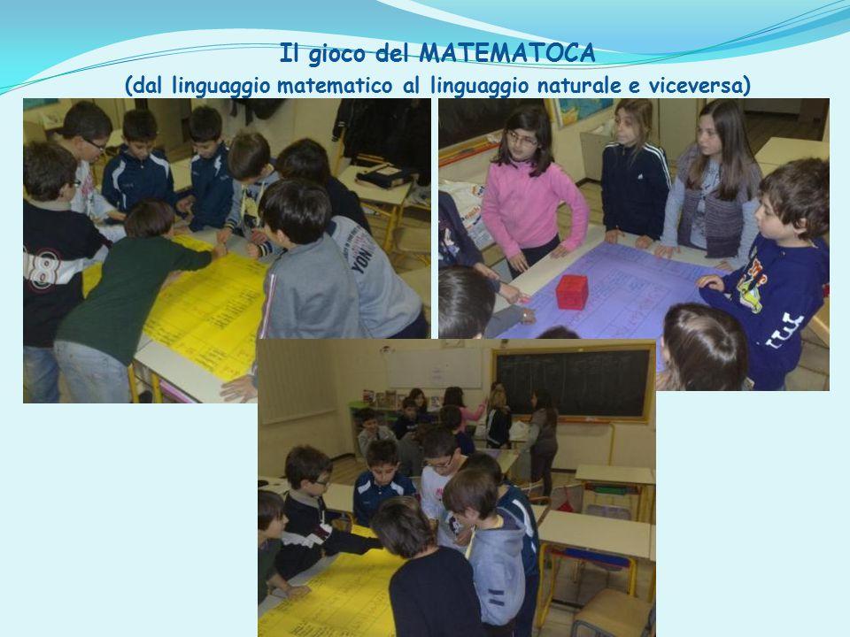 Il gioco del MATEMATOCA (dal linguaggio matematico al linguaggio naturale e viceversa)